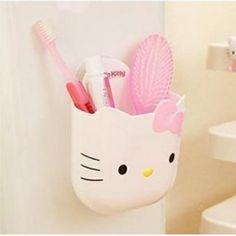 4pcs Set Hello Kitty Bathroom Bath Lotion Bottle Shower Hello