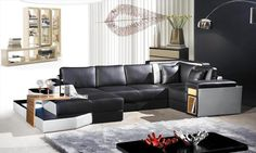 Stylish Design Furniture - 2314  Contemporary leather Sectional Sofa, $3,517.50 (http://www.stylishdesignfurniture.com/products/2314-contemporary-leather-sectional-sofa.html)