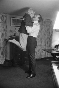 Simone Signoret and Yves Montand by Jack Garofalo, 1960