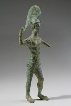 Etruscan Bronze Statuette of a Warrior | 5th Century BC | Price $17,000.00 | Etruscan | Bronze | Sculpture | eTiquities by Phoenix Ancient Art