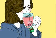 El té del desayuno