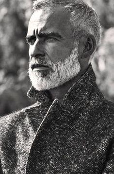 Francisco, Lisbon Male model, Lisbon, white beard, Man Fashion, Silver Fox