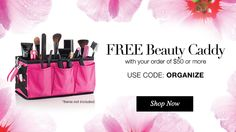 get it together ladies and gents free beauty caddy with your $50 order Use Coupon Code: ORGANIZE offer valid until MIDNIGHT on April 18, 2016 start your mother's day shopping early with this offer http://maryharper.avonrepresentative.com