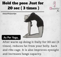 Health And Fitness, Fitness Tips, Fitness Motivation, Increase Lung Capacity, Flat Belly Workout, Pooch Workout, Stress Relief Tips, Yoga For Flexibility, Beautiful Yoga