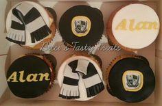 Port Vale FC cupcakes