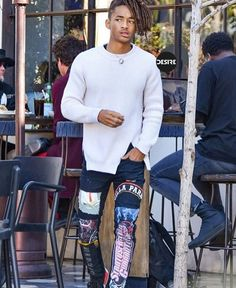 "Nice Men's Summer Style 710 Likes, 3 Comments - DESIRE (@desiredotink) on Instagram: ""Mr. Jaden Smith ..."
