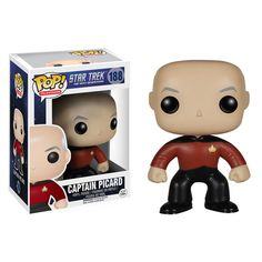 The New Star Trek: TNG Funko POP!s Include The Most Adorable Locutus Of Borg Possible