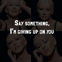 A Great Big World Ft. Christina Aguilera – Say Something Lyrics
