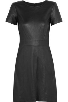 Theory McClaini leather mini dress