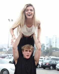 YouTuber Jake Paul and Alissa Violet as seen in 2016...