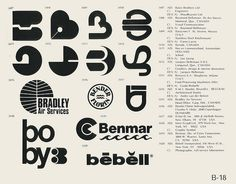 Eric Carl Collection of vintage logos from a edition of the book World of Logotypes jpg Logos Self Branding, Logo Branding, Corporate Branding, Personal Branding, Vintage Logo Design, Vintage Logos, Graphic Design, Design Design, Design Ideas