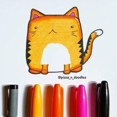 #art #artist #doodle #doodles #instadoodle #drawing #instadraw #sketch #instasketch #cartoon #artoftheday #doodling #kawaiiart #doodleart #kawaiidoodle #sharpie #cats #cat #catsagram #catsofig #instacat #instacats