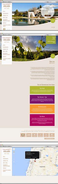 Kunde: Entre Cielos | Branche: Tourismus | Werbemittel: Corporate-Website | Erscheinung: einmalig | Umfang: Standard
