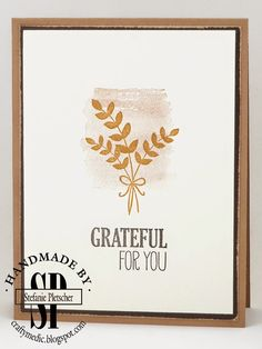 Stampin' Up! For All Things - Simple & Lovely