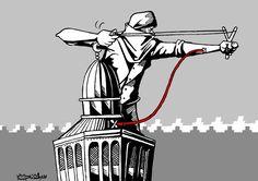كاريكاتير صحيفة الحياة الجديدة (فلسطين)  يوم السبت 1 نوفمبر 2014  ComicArabia.com (Beta)  #كاريكاتير