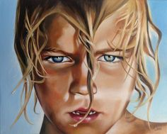 """Oil painting by Rebecca Tecla """"Revival"""" Sold"""