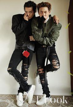 Mino (Winner) & Bobby (iKON) - 1st Look Magazine vol. 129