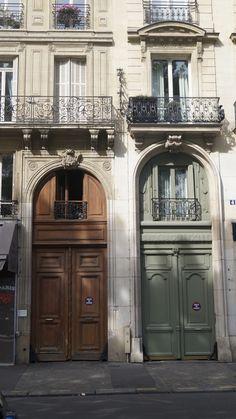 Paris door  spacesbureau.com