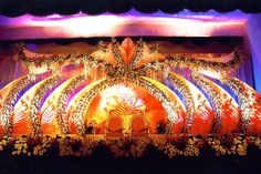Bangalore Stage Decoration – Design #384  stage decoration services, flower delivery services, venue decoration services, flower arrangement, flower bouquets, car decoration, flower decoration for ganpati, flower decorators in thane