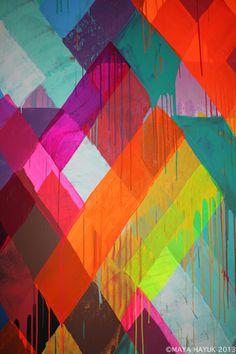 Illustrations, Illustration Art, Street Art, Art Design, Design Color, Pattern Design, Geometry Art, Mural Art, Grafik Design