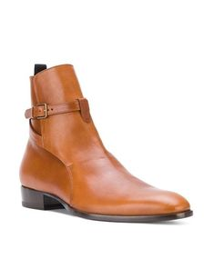 7dc1274ec Made To Order Handmade Men High Ankle Brown Color Genuine Leather Jodhpurs  Boots Handmade Upper made with Cow Leather Lining made with Cow Leather  Sole made ...