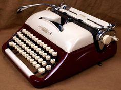 Buy a vintage typewriter to address the envelopes ($150ish on Craigslist)