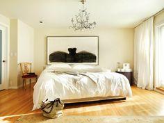 luxurious yet simple bedroom I