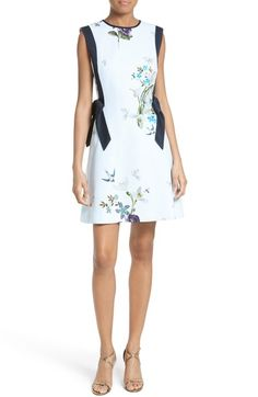 Ted Baker London Sipnela A-Line Dress available at #Nordstrom