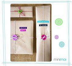 embalaje creativo regalos - minimoi