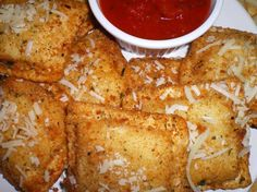 Toasted Ravioli. Photo by Julie B's Hive
