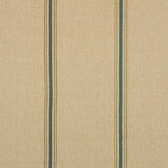 Ralph Lauren STAMFORD STRIPE PRAIRIE BLUE Fabric