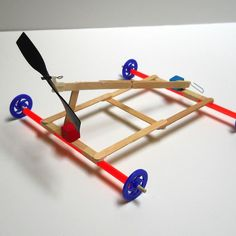Hands on engineering stem projects for kids and students pinterest propeller powered car engineering project for kids solutioingenieria Choice Image