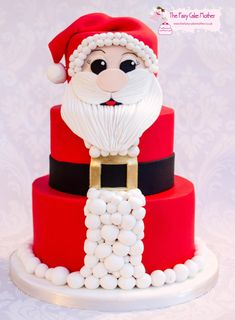 Santa! - Cake by The Fairy Cake Mother