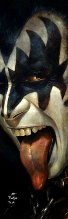 Gene Simmons by Brian Fox❇Téa Tosh