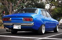 Datsun B210 Sunny by hightopfade, via Flickr