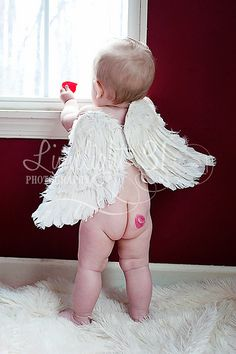 Baby cupid!  Valentines day