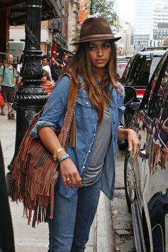 Camila Alves - Matthew McConaughey and His Family in New York