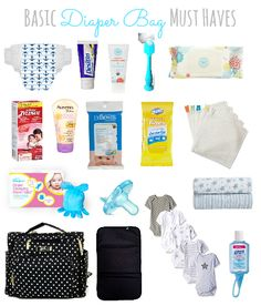 Diaper Bag Must Haves  baby registry, baby registry favorites, baby favorites, registry, baby registry must haves, baby must haves, building a baby registry, registering for baby, making a baby registry, baby bag, toddler bag, diaper bag, diaper bag must haves, baby bag must haves, bag, traveling with baby, out with baby
