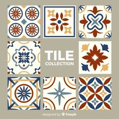 Talavera pack of tiles Free Vector Framed Fabric, Fabric Wall Art, Tile Patterns, Textures Patterns, Tile Art, Tiles, Dragonfly Art, Graphic Wallpaper, Background Patterns