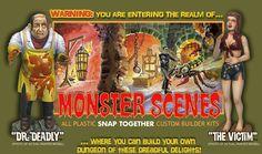 Monster Scenes Model Kits
