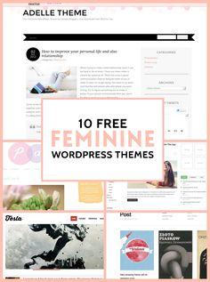 14 best wordpress themes images on pinterest design web website 10 free feminine wordpress themes a prettier web maxwellsz