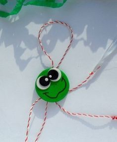 Felt Crafts, Crafts For Kids, Arts And Crafts, Baba Marta, Perfect Party, Crochet Baby, Polymer Clay, Activities, Christmas Ornaments