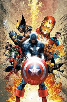 Captain America and pals!#Repin By:Pinterest++ for iPad#