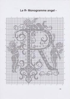 Gallery.ru / Фото #21 - JD327 - Monogrammes Angels - lyulnar