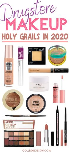 The Best Drugstore Makeup Products In 2020 - - Don't end up with a drugstore makeup dud. Here is our coveted list of the best drugstore makeup products in 2020 that are worhty of holy grail status. Sephora Lip Stain, Sephora Lipstick, Colourpop Lipstick, Lipsticks, Make Up Tools, Drugstore Makeup Dupes, Makeup Cosmetics, Makeup Trends, Makeup Ideas
