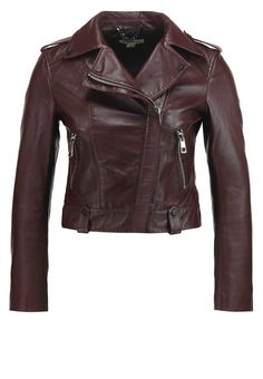 Whistles MAYA Lederjacke burgundy Premium bei Zalando.de | Material Oberstoff: 100% Leder | Premium jetzt versandkostenfrei bei Zalando.de bestellen!