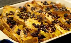 Luscious Bread and Butter Pudding