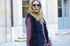 Olivia Palermo at Schiaparelli show in Paris January 2016 Estilo Olivia Palermo, Olivia Palermo Lookbook, Olivia Palermo Style, Live Fashion, Fashion Show, Paris Shows, Runway Fashion, Paris Fashion, Spring Summer 2016