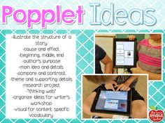 ideas for Popplet in the classroom