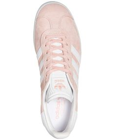 adidas Women s Gazelle Casual Sneakers from Finish Line Shoes - Finish Line  Athletic Sneakers - Macy s 0fdd5eabdb6